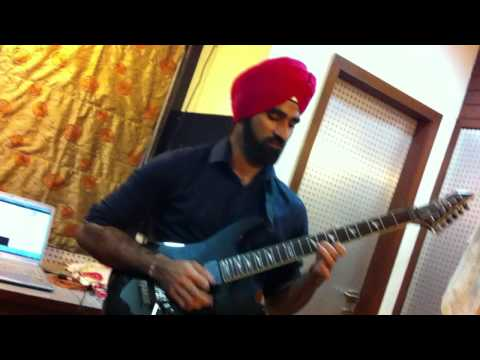 Iron Maiden - The Trooper (Solo) by Kanwaljeet Singh