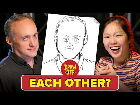 Animator Vs. Cartoonist Draw Each Other •Draw Off