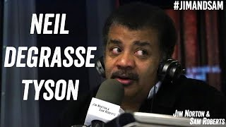 Neil deGrasse Tyson - Debating Aliens, Time Travel, Speed of Light - Jim Norton & Sam Roberts
