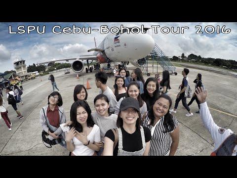 Cebu Bohol Tour 2016 Laguna State Polytechnic University San Pablo City Campus