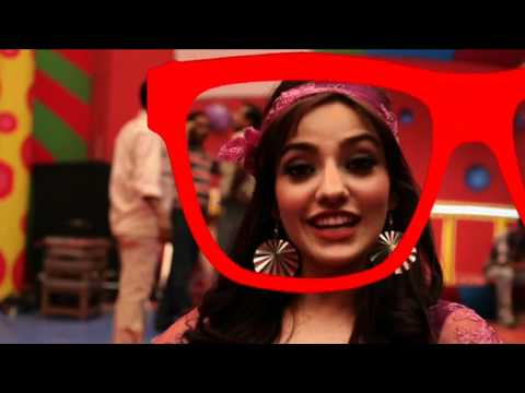 Neha Sharma Behind The Scenes Of Dil Garden Garden Ho Gaya