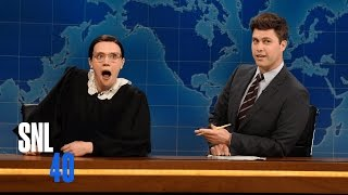 Weekend Update: Ruth Bader Ginsberg - Saturday Night Live