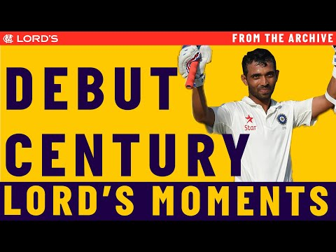 Rahane's debut century at Lord's | Lord's Advent Calendar - 7th December