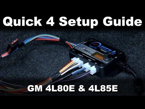 Quick 4 Tuning Software Setup Guide (GM 4L80E/4L85E)