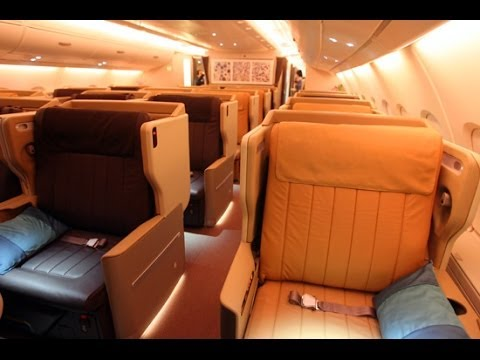 ASIAN LUXURY | SINGAPORE AIRLINES | ZURICH-SINGAPORE | A380