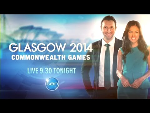 Channel Ten - Glasgow Live Commonwealth Games promo (July 2014)