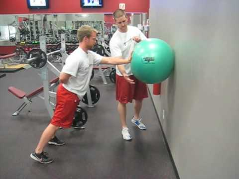 Endeavor Sports Performance: Wall Stability Ball Dynamic Shoulder ...