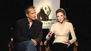 Patrick Fabian and Ashley Bell (The Last Exorcism) Interview