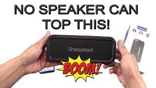 The BEST Bluetooth Speaker, Wait Till You Hear The Sound Quality (Tronsmart Element Force) [4K]