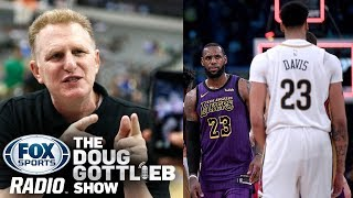 """Michael Rapaport Defends  """"Don't be surprised if the Lakers trade LeBron to Pelicans."""""""