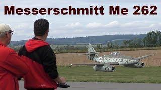 Messerschmitt Me 262 Schwalbe, giant scale RC jet aircraft, 2017
