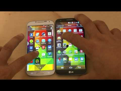 Galaxy S4 vs LG G2: video confronto by HDblog