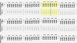 ONE OK ROCK We are ギター タブ guitar TAB
