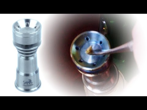 Marijuana Product Review: Sabertooth Domeless Titanium Nail 14mm - 18mm