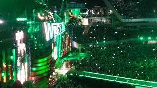 Triple H entrance at Wrestlemania 33 live