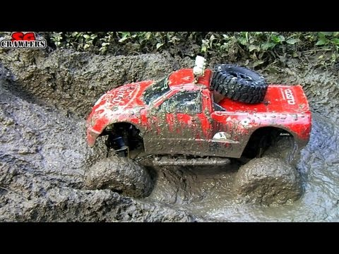 RC Trucks Mud SPA! 11 Trucks mudding at Butterfly Trail - Ax