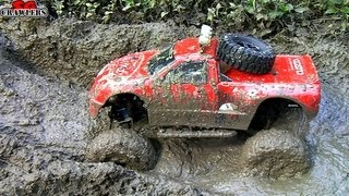 RC Trucks Mud SPA! 11 Trucks mudding at Butterfly Trail - Axial SCX10 RC4WD Trail Finder 2
