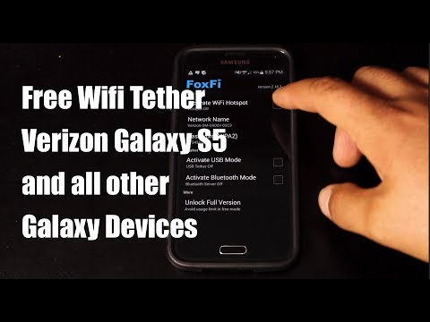 Verizon Galaxy S5 Free Wifi Tether Guide
