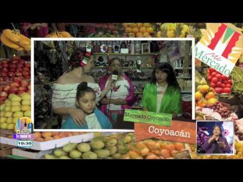 Mercado de Coyoacán: dulces mexicanos y artesanías