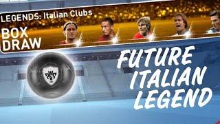 LEGENDS : Italian Clubs Box Draw | PES 2019