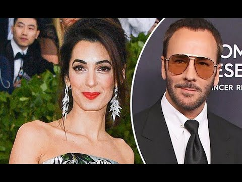 Amal Clooney angers fashion designer Tom Ford's team after changing to backup outfit at Met Gala - 2