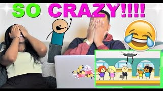 Cyanide & Happiness Compilation - #2 Reaction!!!!
