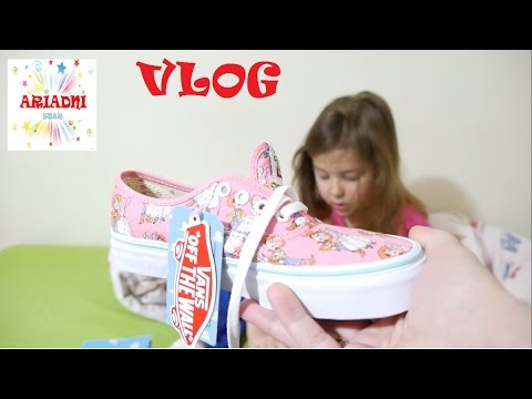 Vlog  🎁 Vans Toy Story  💝 βίντεο για παιδιά παιχνίδια για παιδιά ελληνικά greek
