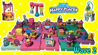 Happy Places Season 4 WAVE 2 All New Petkins Sets Case Of 29 Blind Bags Surprises CODE FOR WAVE 2