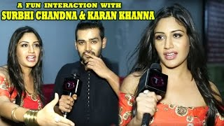 Ishqbaaz Stars Surbhi Chandna And Karan Khanna Share Special Camaraderie | Telly Reporter Exclusive