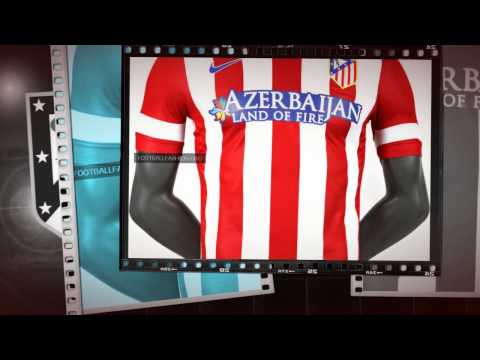 2014-15 Atletico Madrid Home Nike Football Shirt