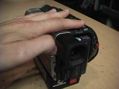 Powercam Sony Hi8 XR police camcorder