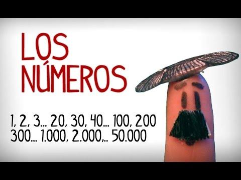 Aprender Los Números En Español Del 1 Al 50.000