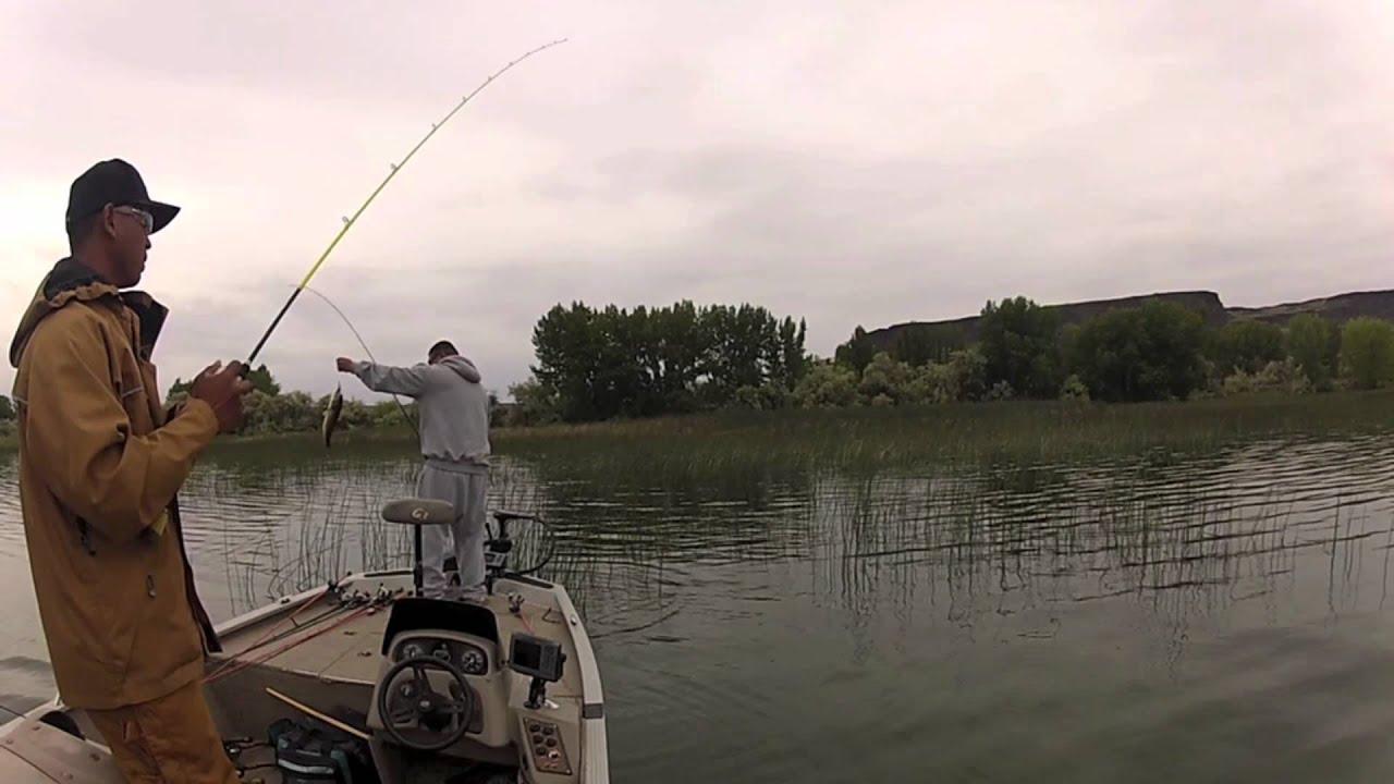 Banks lake bass fishing youtube for Banks lake fishing
