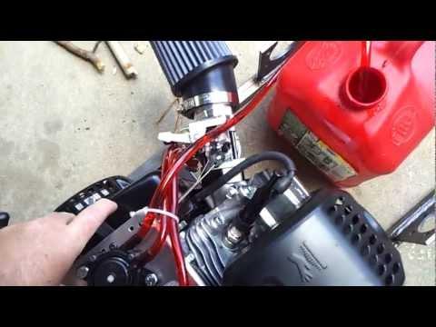 Fully Built! Honda Clone OHV (Predator 212cc) 4stroke BarStool Racer 2 (Valve Lash fixed)