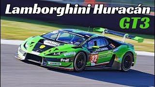 Lamborghini Huracán GT3 by Imperiale Racing - 5.2-Litre V10 N/A Engine Sound & Action!