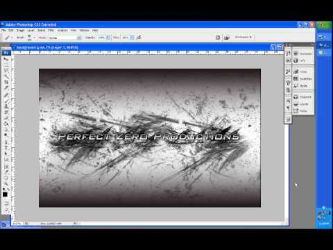 How to Make a Cool Background in photoshop