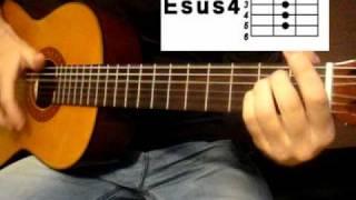 Как играть на гитаре песню любэ
