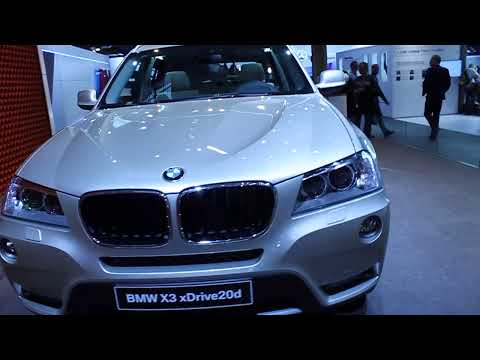 2011 BMW X3 at 2010 Paris Auto Show [HD]