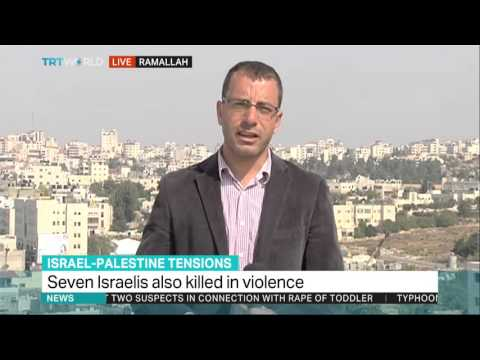 TRT World: Mohannad Alami reports from Ramallah on Israel-Palestine Tensions