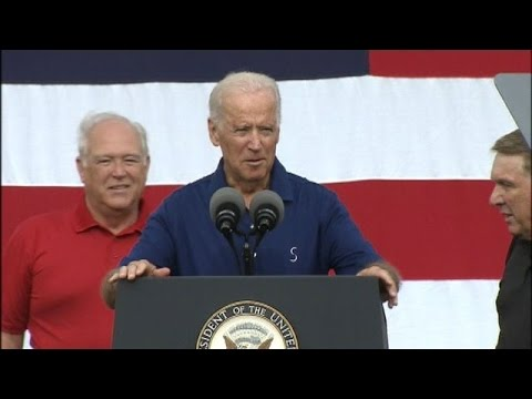 FULL SPEECH: VP Joe Biden in Detroit on Labor Day 2014