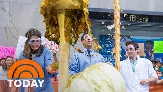 Nick Uhas' Mad Science Experiments Explode Across TODAY Plaza | TODAY