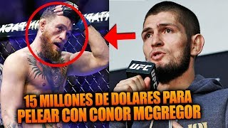 KHABIB vs MCGREGOR 2 por 15 MILLONES DE DOLARES, Dustin Poirier sobre UFC 230   MMA en ESPAÑOL