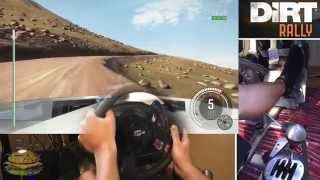 DiRT Rally. Extreme Speed @ Pikes Peak USA Hillclimb - with Peugeot 405, 607bhp + 880kg!