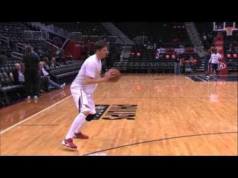Kyle Korver Shooting for NBA 3-Point Record