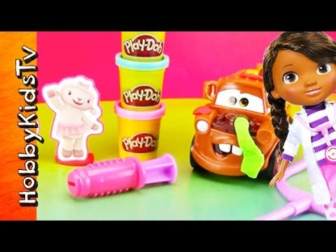 PLAY-DOH Doc McStuffins Set. Helps Mater. Cookie Monster. Kung Fu Panda. Joker -Bandaids