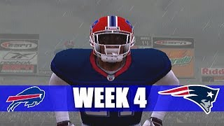 ITS GETTING BETTER - ESPN NFL 2K5 BILL FRANCHISE VS PATRIOTS WEEK 4