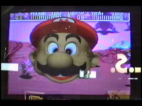 Real Time Mario generated on a Silicon Graphics 420 VGX Workstation at the 1992 Summer Consumer Electronics Show.