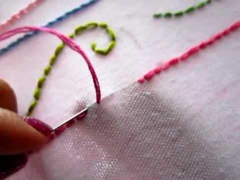 Punto de pespunte youtube - Como coser cortinas paso a paso ...