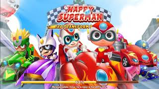best games  Happy Superman new online car game 2019