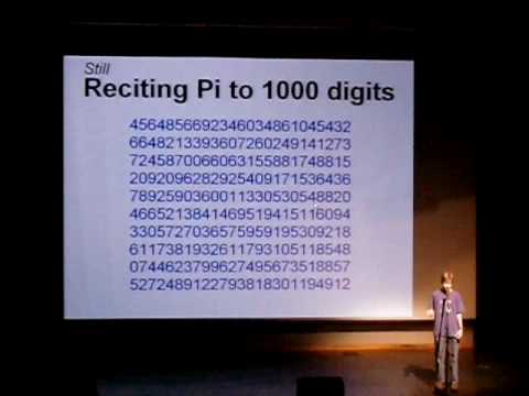 TAMS Talent Show 2008 Reciting 1000 Digits Of Pi YouTube